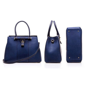 Sociology Pebble Lock Tote With Wallet (2-Piece) | Groupon Exclusive