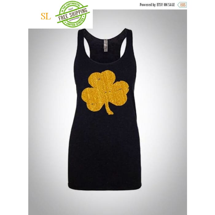St Patricks Day Tank Top. Womens Tank. Workout Tank.