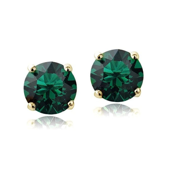Swarovski Elements Birthstone Stud Earrings