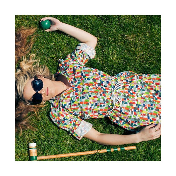 The Buoy Shirt Dress In Cotton Lawn Women - Apparel - Dresses - Day To Night