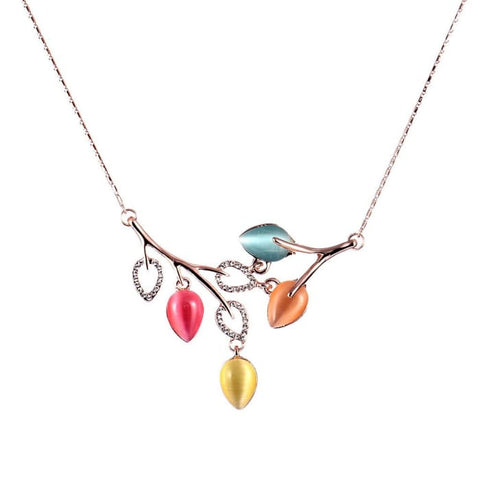 The Summer Leaf Necklace Women - Jewelry - Necklaces