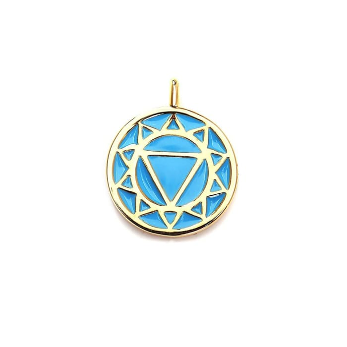 The Throat Chakra Pendant Women - Jewelry - Necklaces