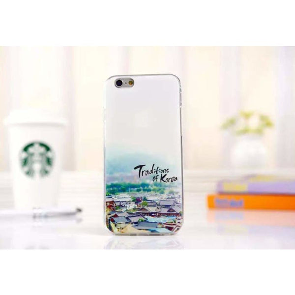 Ultra Thin Soft Scenery Mountain Case Cover For Apple Iphone 6 Case Luxury Series Fashion Transparent Back Cover For Phone6 4.7 Style8 Phone
