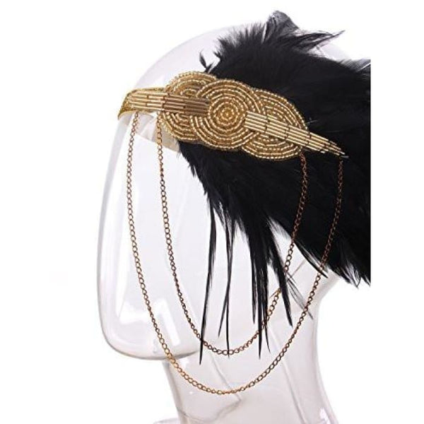 Vintage 1920S Headband Flapper Great Gatsby Back To Results
