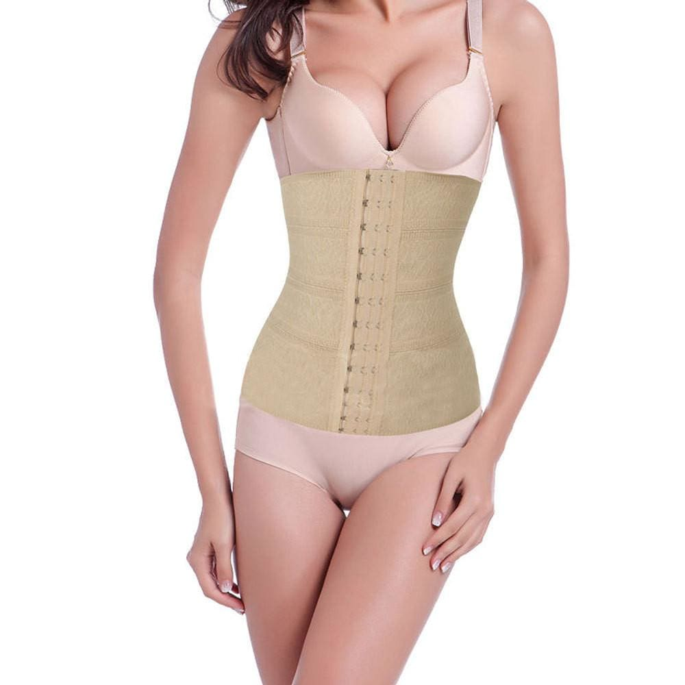 c3d20a8a94702 Women sexy waist cincher trainer body shapers tummy girdle control corset  sport shapers slimming hot body