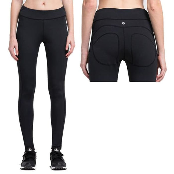 Women Yoga Pants Sports Exercise Tights Fitness Running 004 / S Yoga Pants