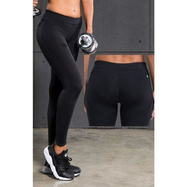 Women Yoga Pants Sports Exercise Tights Fitness Running 031 / S Yoga Pants