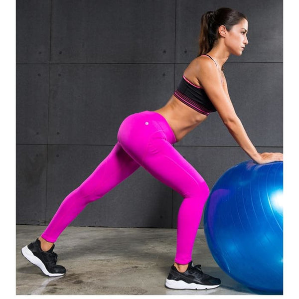 Women Yoga Pants Sports Exercise Tights Fitness Running Yoga Pants