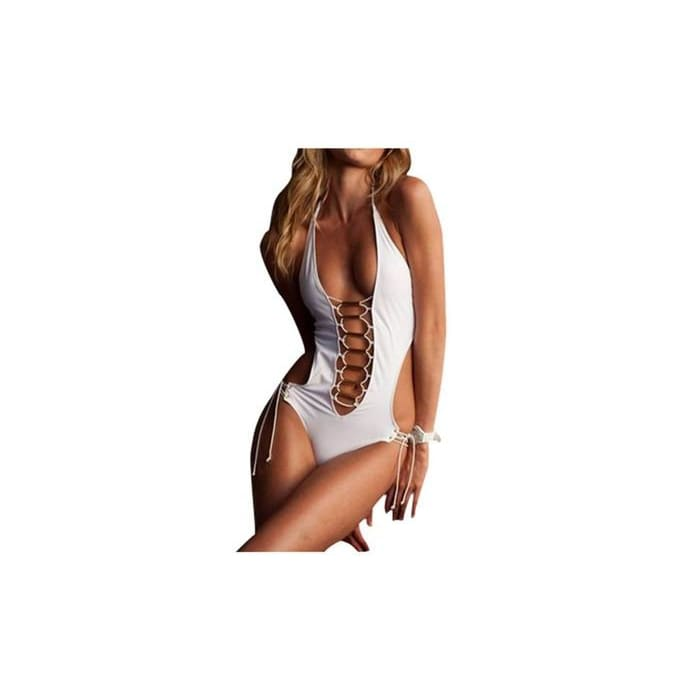 Womens Braided Cutout One Piece Monokini
