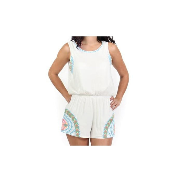 Womens Contemporary Summertime Rompers