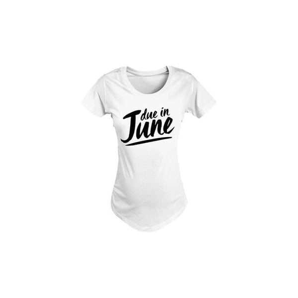 Womens Due Date Months Maternity Tees