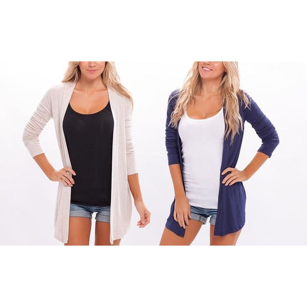 Womens Spring Cardigans (2-Pack)