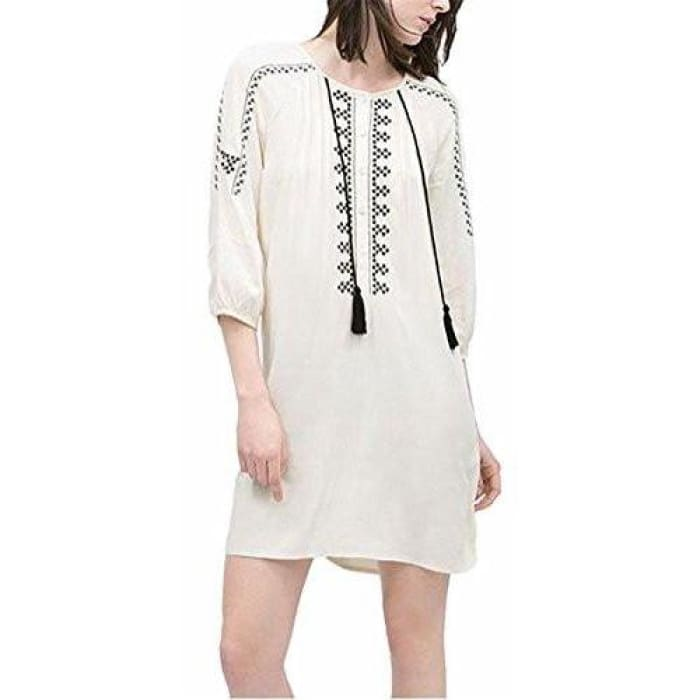 Womens Summer Tribal Printed Casual Hoody Dress Back To Search Results For Woman Dre