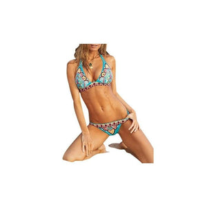 Womens Tribal Bikini Sets