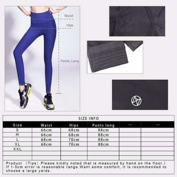Yoga Leggings High Waist Yoga Pants Push Up Sport Leggings Yoga Pants