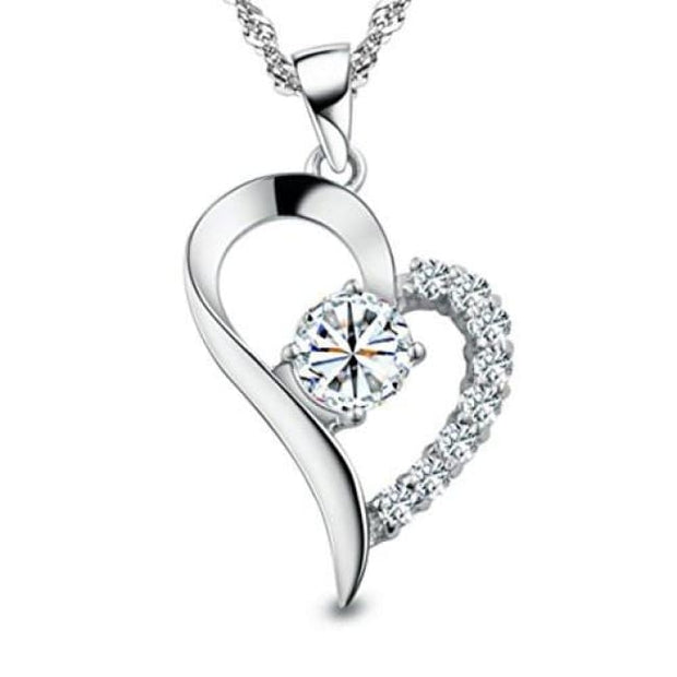 You Are The Only One In My Heart Sterling Silver Pendant Necklace Fashion