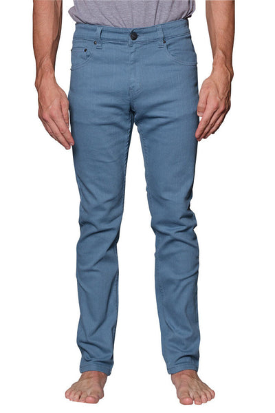 Men's Skinny Fit Colored Jeans DL937 (French Blue)