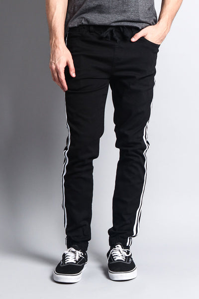 Men's Side Striped Band Joggers – G-Style USA