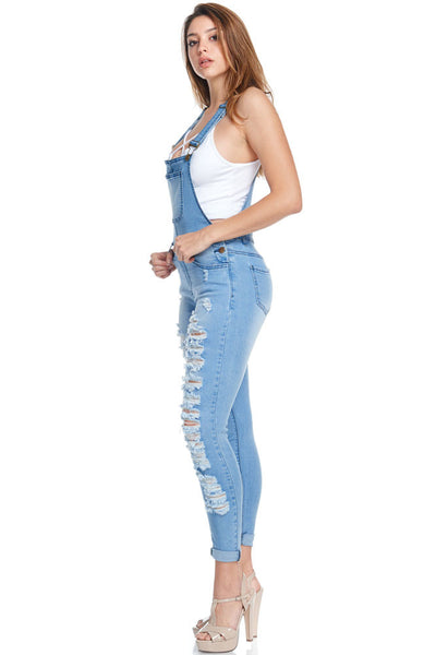 Womens Distressed Skinny Jeans