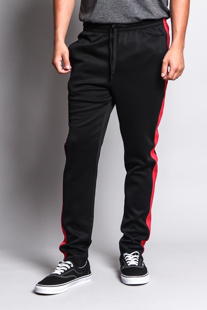 c8d5ac5150e8 Slim Fit Striped Track Pants TR522 - S1C – G-Style USA
