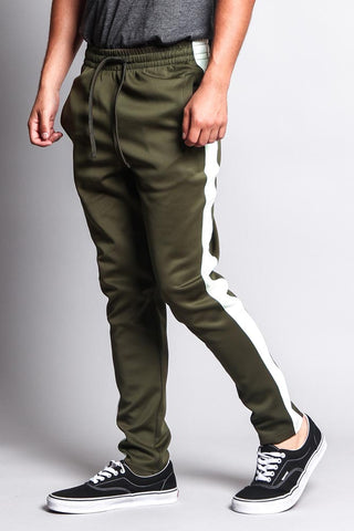 Olive/Off-White