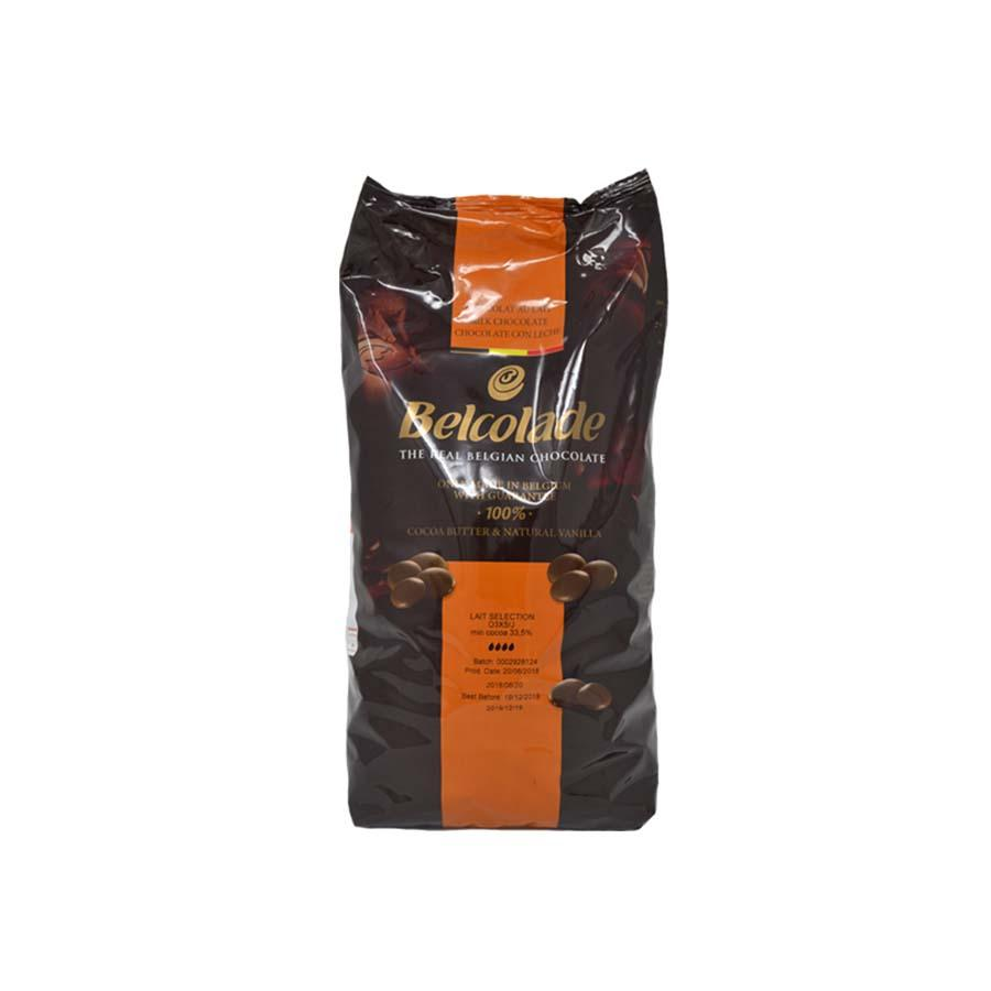 Belcolade 5kg Milk Chocolate Easimelt 34%