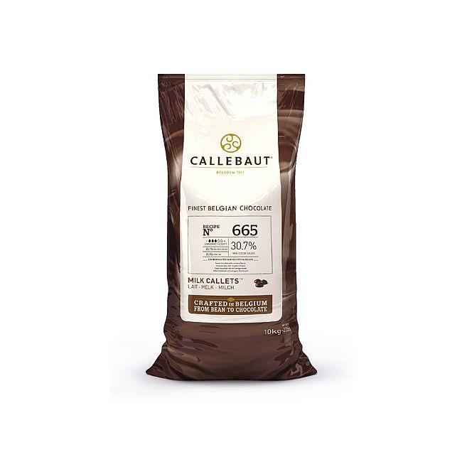Callebaut 665 10kg Milk Chocolate Easimelt 30.7%