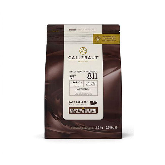 Callebaut - 2.5kg Dark Chocolate Easimelt 54.5%