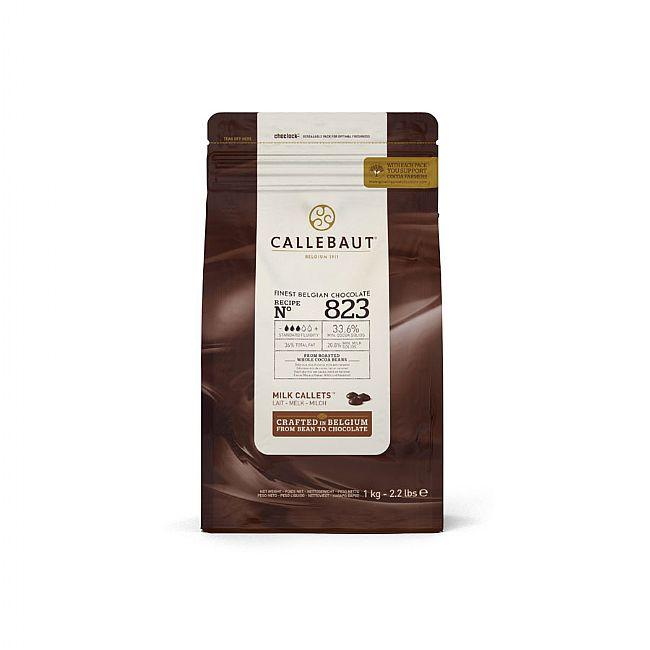 Callebaut - 1kg Milk Chocolate Easimelt 33.6%