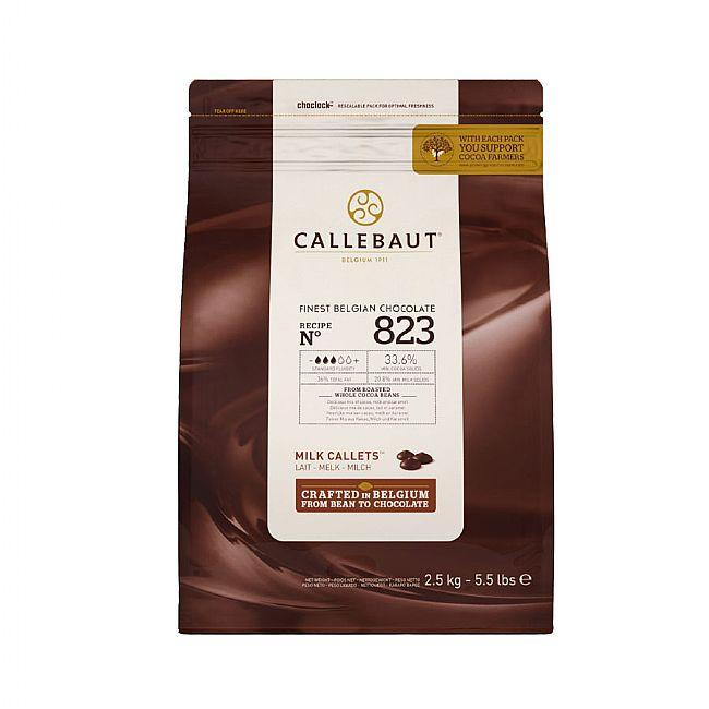 Callebaut - 2.5kg Milk Chocolate Easimelt 33.6%