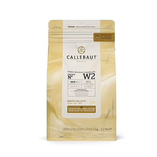 Callebaut - 1kg White Chocolate Easimelt