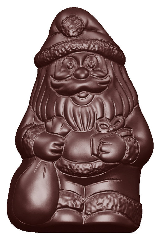 CW1636 Santa Claus - Polycarbonate Chocolate Mould