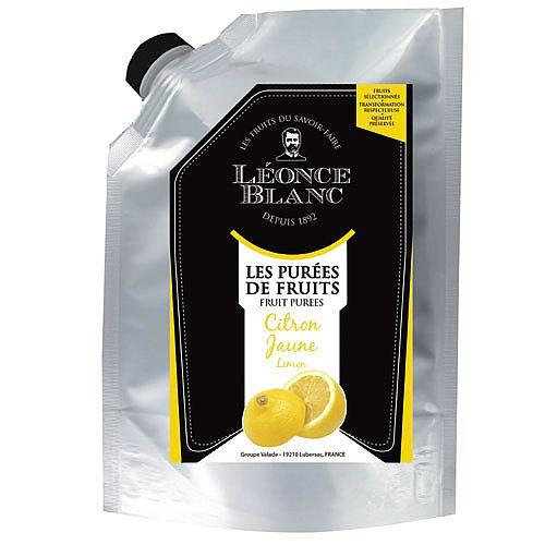 Léonce Blanc Puree - Lemon Fruit Puree 1kg