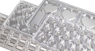 CW1000L13 Heart - Magnetic Chocolate Mould
