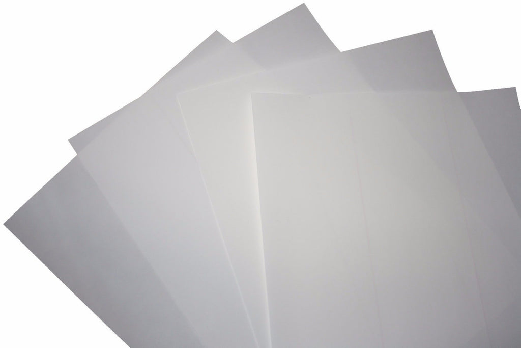 Plain Chocolate Transfer Sheets - Large