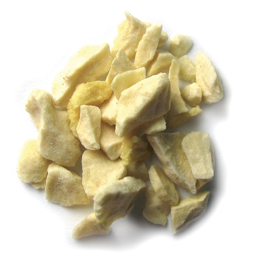 Sosa's light cubes of freeze-dried Banana pieces