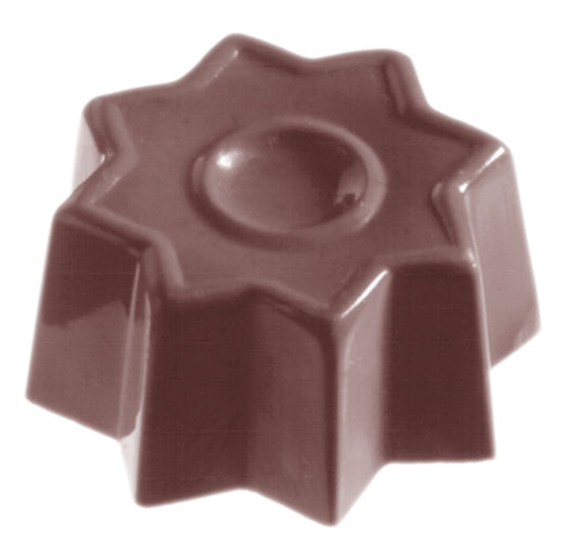 CW1068 Star - Polycarbonate Chocolate Mould