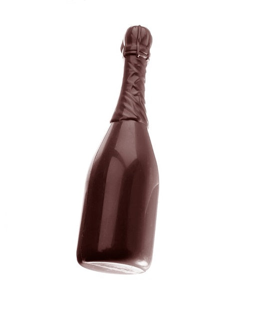 CW1257 Champagne Bottle, Large - Polycarbonate Chocolate Mould
