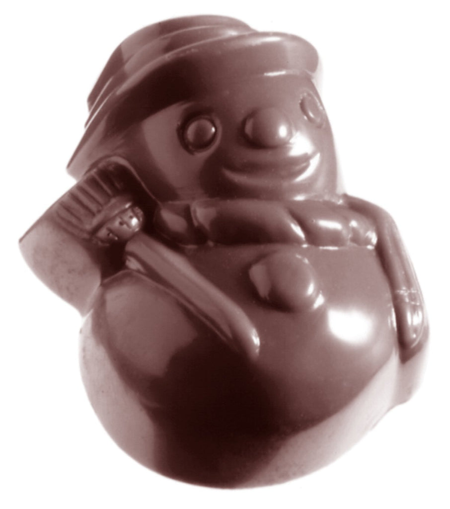 CW1333 Snow Man - Polycarbonate Chocolate Mould