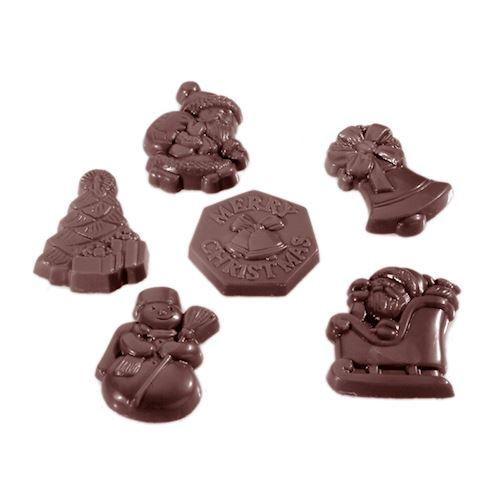 CW1406 Christmas Assortment - Polycarbonate Chocolate Mould