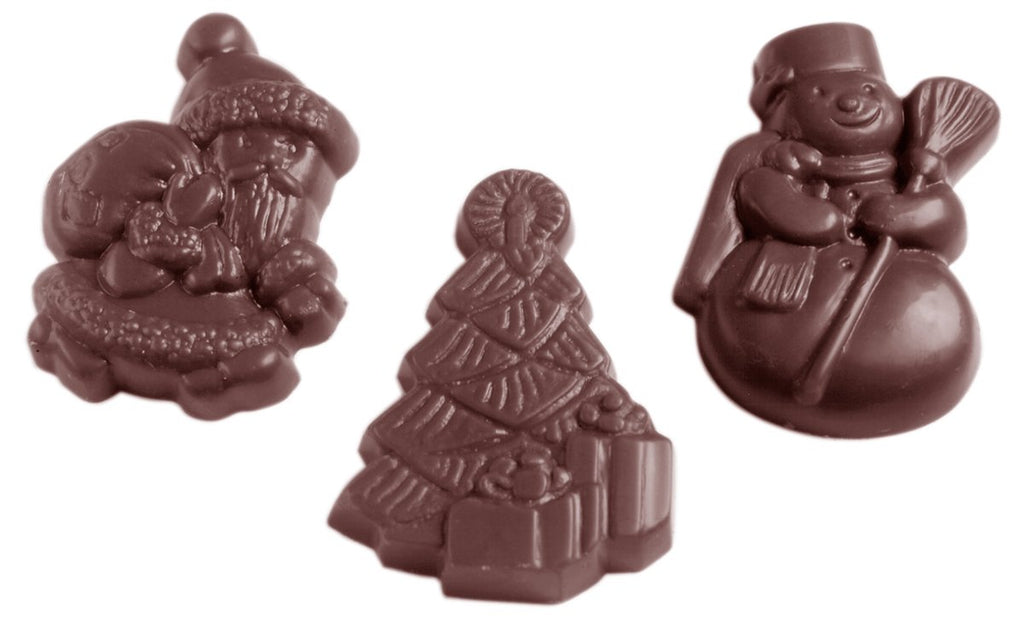CW1435 Christmas Assortment - Polycarbonate Chocolate Mould