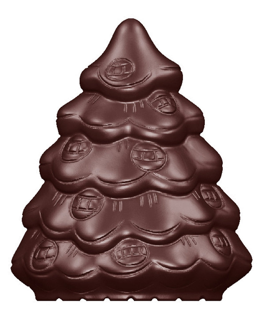 CW1635 Christmas Tree - Polycarbonate Chocolate Mould