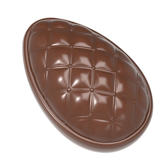 CW1888 Easter Egg Chesterfield 86mm - Polycarbonate Chocolate Mould