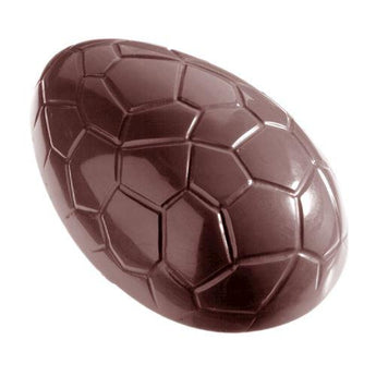 CW2213 Croc Print Easter Egg 106mm - Polycarbonate Chocolate Mould
