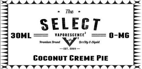 Select Coconut Creme Pie