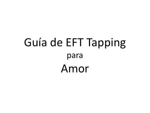Amor Guia de EFT Tapping (Audio mp3)