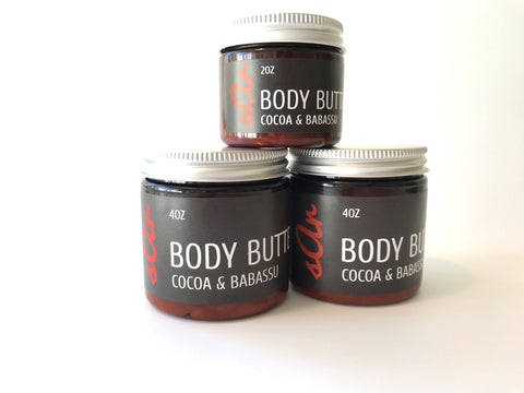 All-Natural Body Butter made with organic ingredients