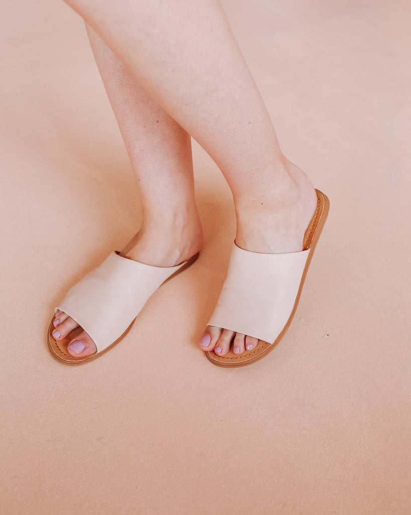 Tropez Slide - Blush