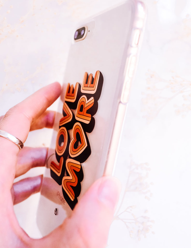 Love More iPhone Case