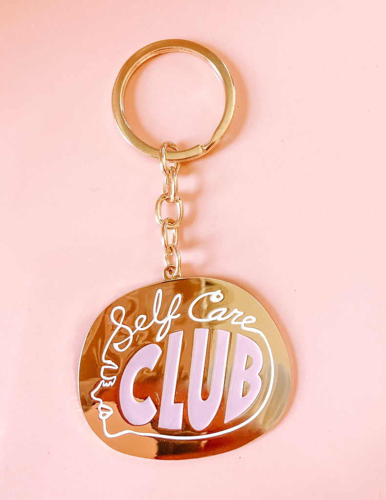 Self Care Club Keychain